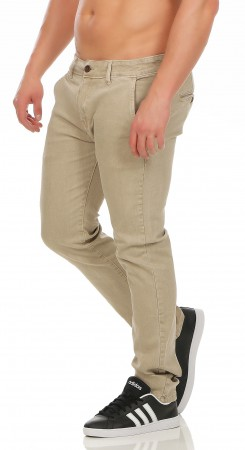 Herren Chino Hose Straight Fit ID161 – Bild 3