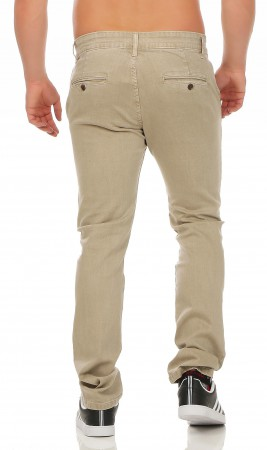 Herren Chino Hose Straight Fit ID161 – Bild 4