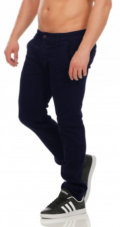 Herren Chino Hose Straight Fit ID161 – Bild 6