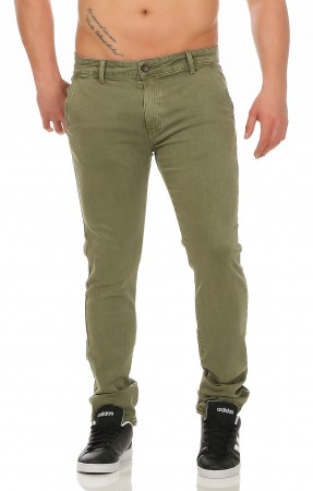 Herren Chino Hose Straight Fit ID161 – Bild 8