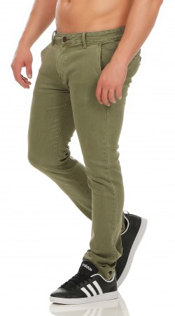 Herren Chino Hose Straight Fit ID161 – Bild 9