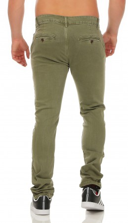 Herren Chino Hose Straight Fit ID161 – Bild 10