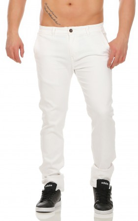 Herren Chino Hose Straight Fit ID161 – Bild 14