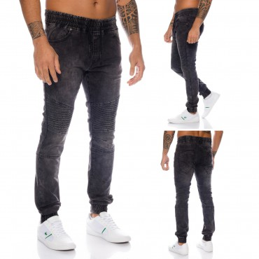Herren Jogging Jeans Slim Fit ID539